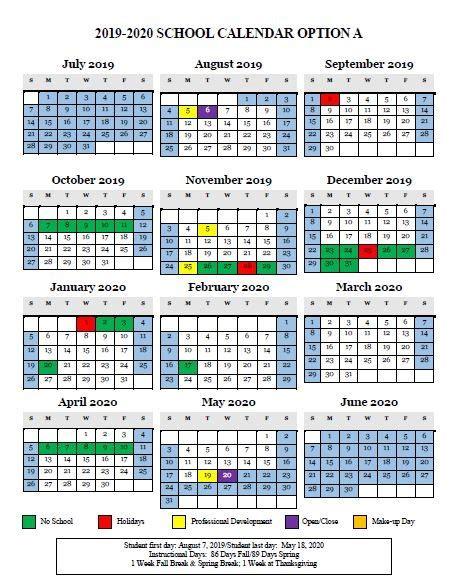 school calendar survey auburn elementary