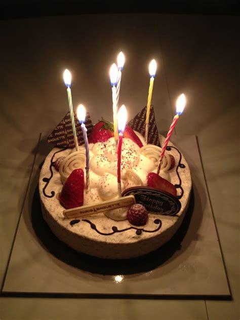 Walnut cake with free candles and happy birthday chocolate!   Yelp