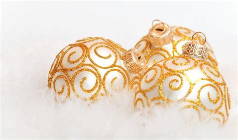 golden christmas ornaments christmas photo 22229819