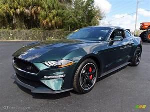 2019 Dark Highland Green Ford Mustang Bullitt #132012685   GTCarLot.com - Car Color Galleries