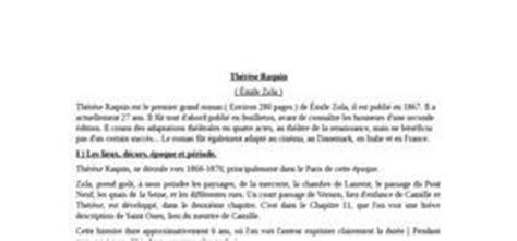 Thérèse Raquin Résumé Par Chapitre by Fiche Lecture Exemple De Fiche De Lecture Gratuite