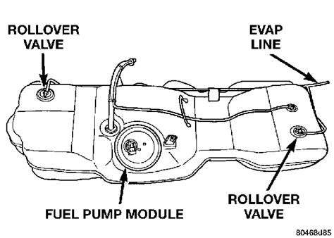 2005 Dodge Grand Caravan Fuel Filter Location by Fuel Problems Dodgeforum