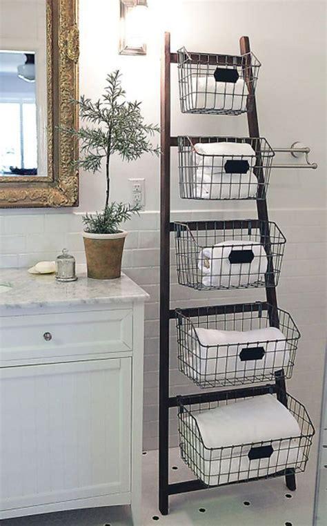 bathroom towel decorating ideas les meilleurs diy déco avec une vieille échelle