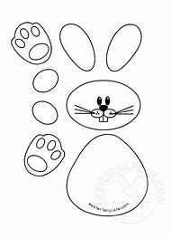 best bunny outline ideas and images on bing find what you ll love