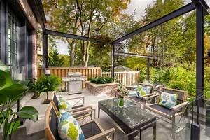 jardin moderne 5 tendances de lannee 2015 With fontaine exterieure de jardin moderne 5 cuisine d ete exterieure design
