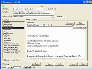 download formal letter template software vimail cover With microsoft access help desk template