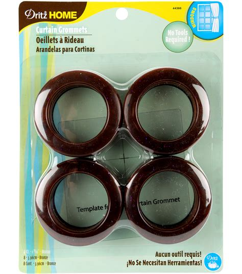 Dritz Home Curtain Grommets by Dritz Home Curtain Grommets 8 Pk Bronze Jo