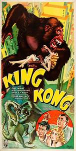 Rare Large Scale 1933 King Kong Poster Set House Record In ...