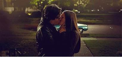 Kiss Delena Damon Elena Vampire Diaries Klaroline