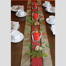 Tischdekoration Weihnachten 18   Tischdeko Weihnachten