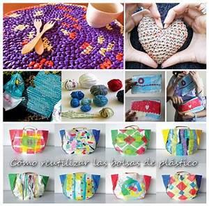 + 30 Imágenes con ideas para reciclar bolsas de plastico Ecología Hoy