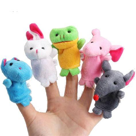 puppet stories for preschoolers 10pcs a set baby children plush animal finger 563
