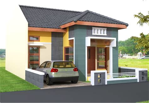 denah rumah minimalis  toko gambar desain rumah