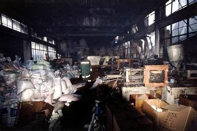 浙江台州一塑料厂发生重大火灾 2死1伤(多图)
