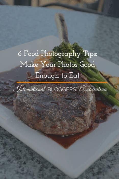 food photography tips    good