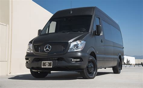 Mercedes Sprinter Luxury Interior by High Roof Executive Coach Custom Interior Mercedes