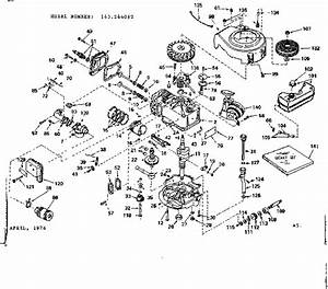 Craftsman 143244062 Lawn  U0026 Garden Engine Parts