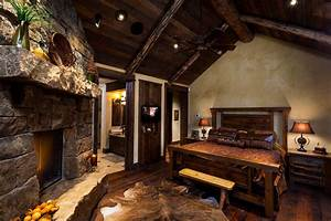 Ceiling Fans For Living Rooms Rustic Log Cabin Master