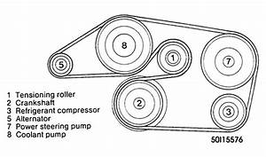 Solved  A Diagram For 1997 Mercedes Benz Serpentine Belt
