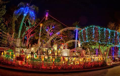 christmas light displays  florida
