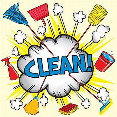 Clipart Cleaning Clean Cliparts Laundry Cartoon Supplies