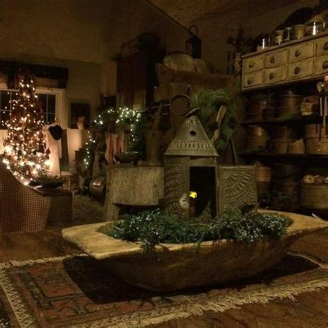 Best Primitive Christmas Images Pinterest