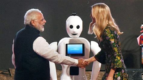 mitra    india robot  stole  show