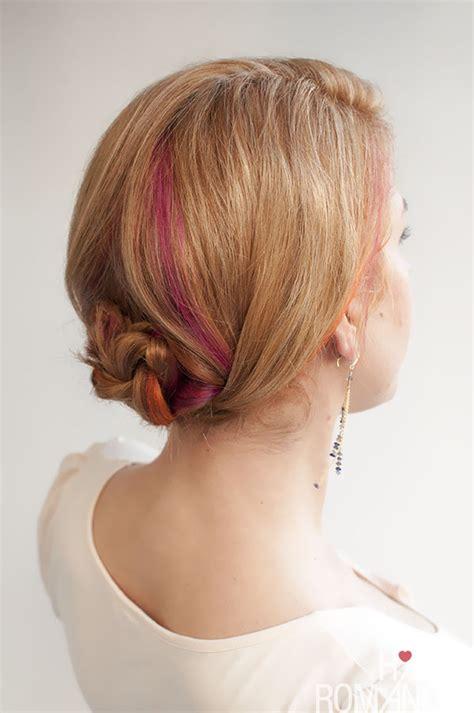 hairstyle tutorial easy braided updo hair romance