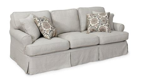 best slipcovers for sofa 20 best collection of t cushion slipcovers for large sofas