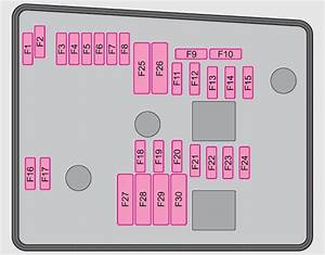 Skoda Superb  2012  - Fuse Box Diagram