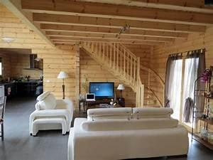 Maison En Bois Construction : maison interieur bois l 39 habis ~ Melissatoandfro.com Idées de Décoration