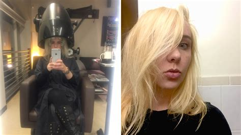 Why Dyeing My Hair Blonde At Home Was A Huge Mistake Allure