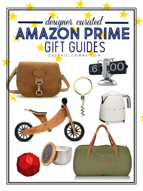 quick ship gift guides  amazon prime cate holcombe