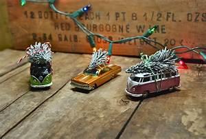 Fun & Easy DIY Ornament: Vintage Toy Car & Christmas Tree