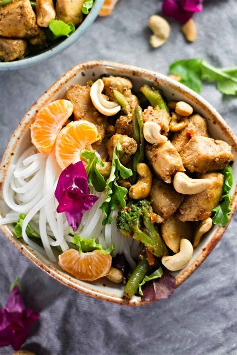 Spicy Thai Cashew Chicken