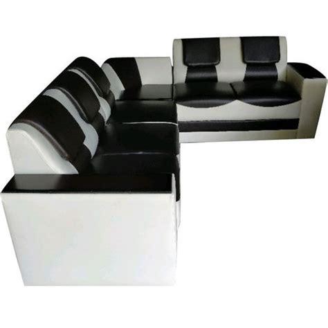 shape teak wood  shaped rexin sofa set rs  set id