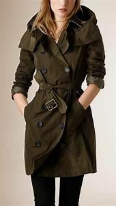Trench Femme Avec Capuche : 1001 id es pour un trench femme les mani res de le porter ~ Farleysfitness.com Idées de Décoration