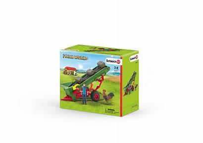Hay Conveyor Schleich Farmer Farm Toy Bauer