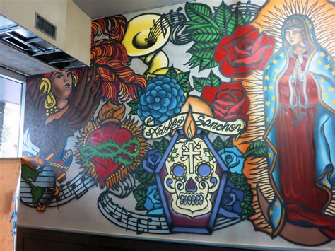 graffiti mural artists johnny restaurant mural new orleans graffiti
