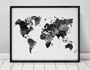 Carte Du Monde Noir : s lection shopping un mariage en blanc noir ~ Teatrodelosmanantiales.com Idées de Décoration