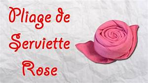 Pliage Serviette Youtube : origami pliage de serviette rose serviette en forme de rose youtube ~ Medecine-chirurgie-esthetiques.com Avis de Voitures