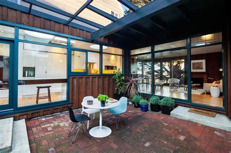 kitchen courtyard designs new kitchen addition opens up to below grade courtyard 1029