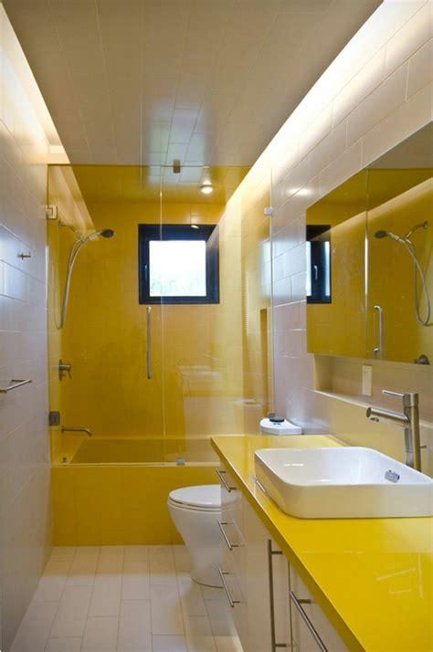 couleur pour salle de bain le jaune en 10 id 233 es