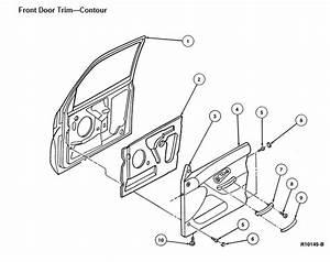 98 Ford Explorer Inside Door Schematic
