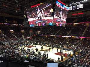 Sacramento Kings New Arena Seating Chart Rocket Mortgage Fieldhouse Section M105 Row 4 Seat 5