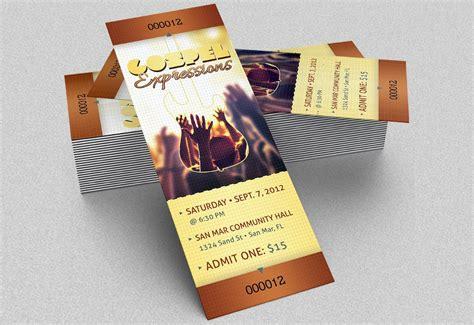 event ticket mockups  premium templates