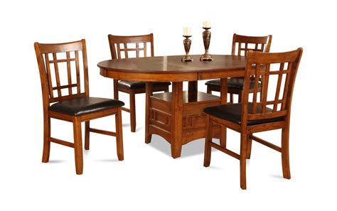 mission park dining table and 4 side chairs dock86