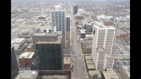 rhodes office tower observation deck columbus youtube