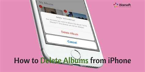 to delete an album on iphone how to delete albums from iphone both photo albums