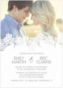 25 fantastic wedding invitations card ideas for Wedding invitations with photograph